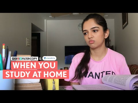 FilterCopy | When You Study At Home | Lockdown Special | Ft. Ahsaas Channa