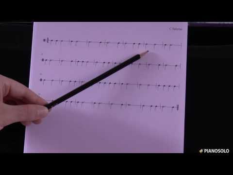 Esercizi di lettura ritmica (Spiegazione)