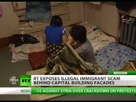 Squalor And Misery: Illegal Immigrant Scam Behind Moscow Facades