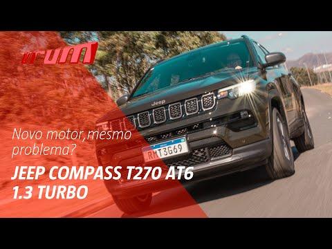 Melhorou? Jeep Compass T270 com novo motor 1.3 turbo.  Confira!