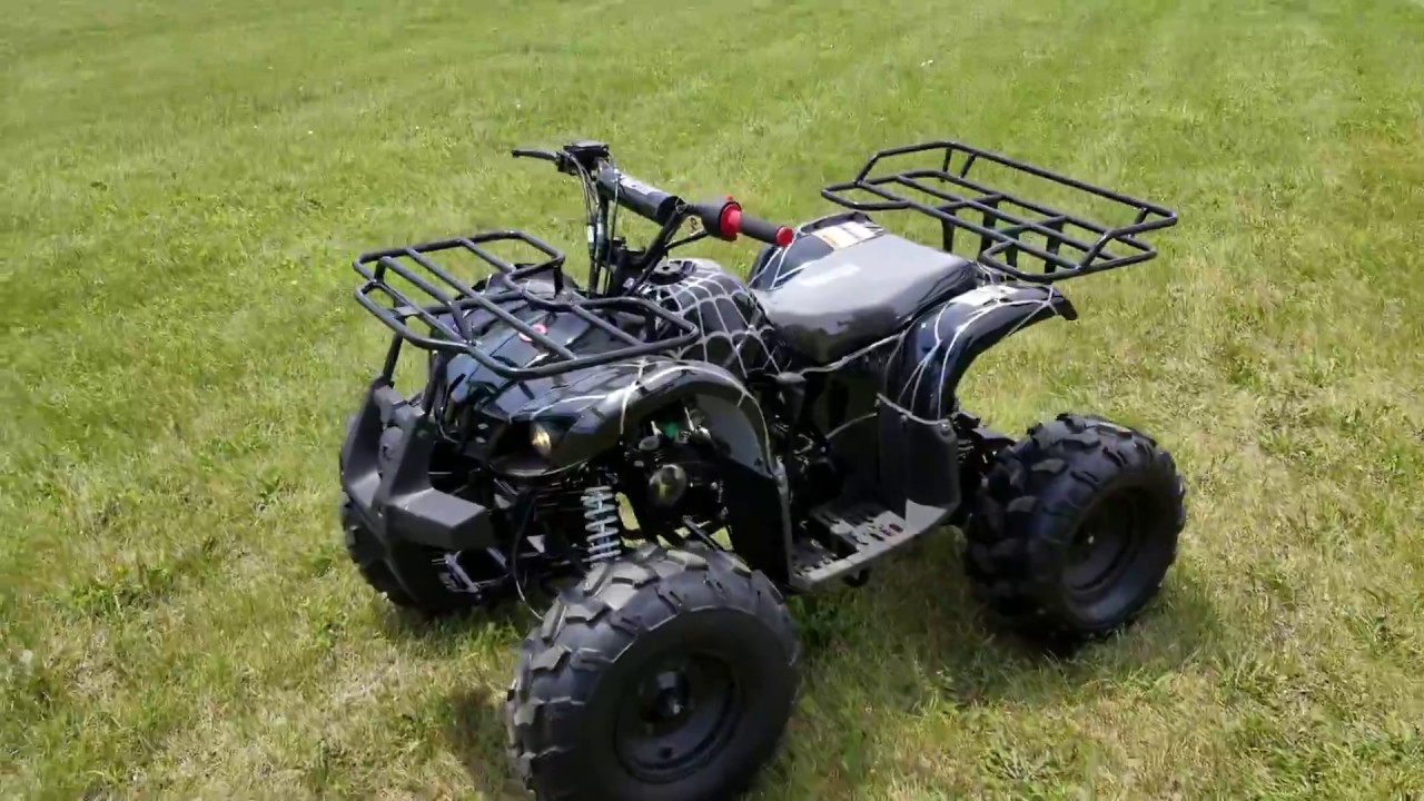 125cc Atv For Sale >> 125cc Atv Coolster 3125 Xr8u Fully Automatic Quad Four Wheeler For Sale