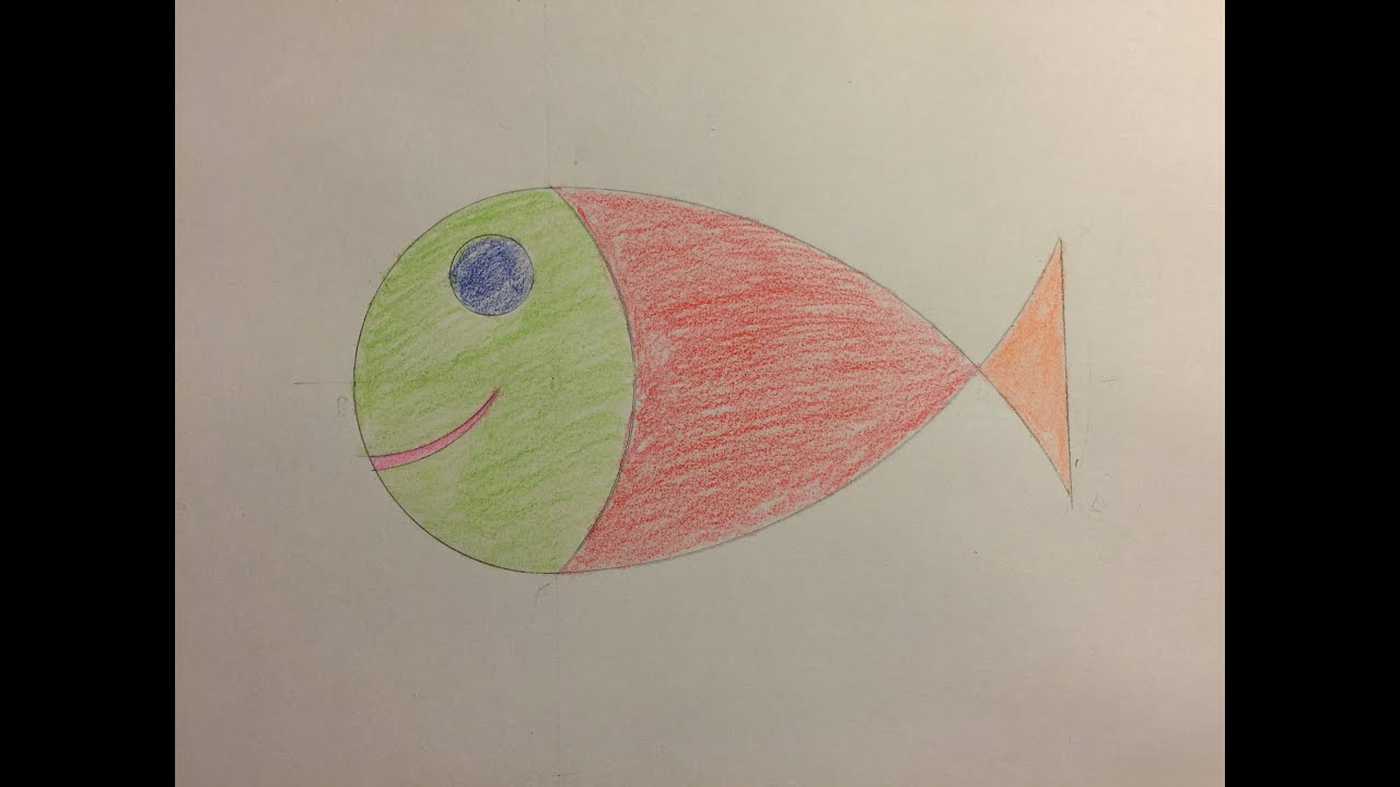 Comment dessiner un poisson d 39 avril how to draw an april - Dessiner un poisson facilement ...
