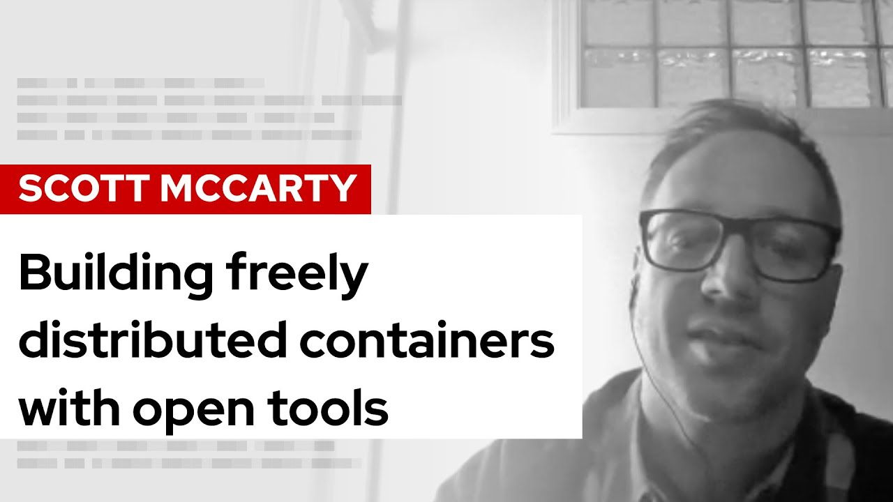 Building freely distributed containers with open tools | DevNation Live