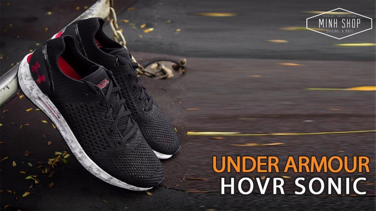 Under Armour HOVR Sonic - Trên Chân và Cảm Nhận - Minhshop.vn