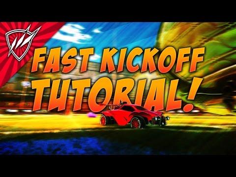 FAST KICKOFF Rocket League Tutorial