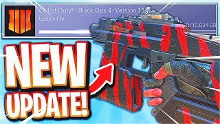 the NEW DLC WEAPONS in Black Ops 4.. 😱 (Update 1.13, Outrider Specialist, New DLC)