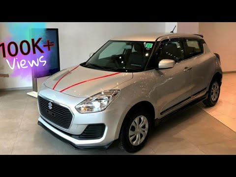BS6 Maruti Suzuki Swift VXI Metallic Silver With Accessories Included   2020   Full Detailed Review