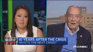 If you hold the stock market, you will grow with America, says Jack Bogle