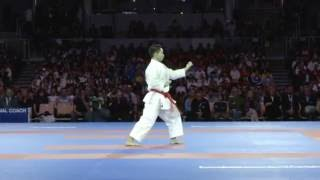 Some highlights of the bronze medal of Male Kata competition at 2016 Karate World Championships