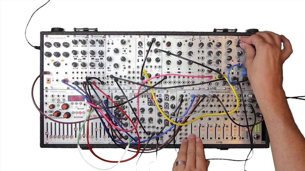 wmd modular synthesizer jam session youtube. Black Bedroom Furniture Sets. Home Design Ideas