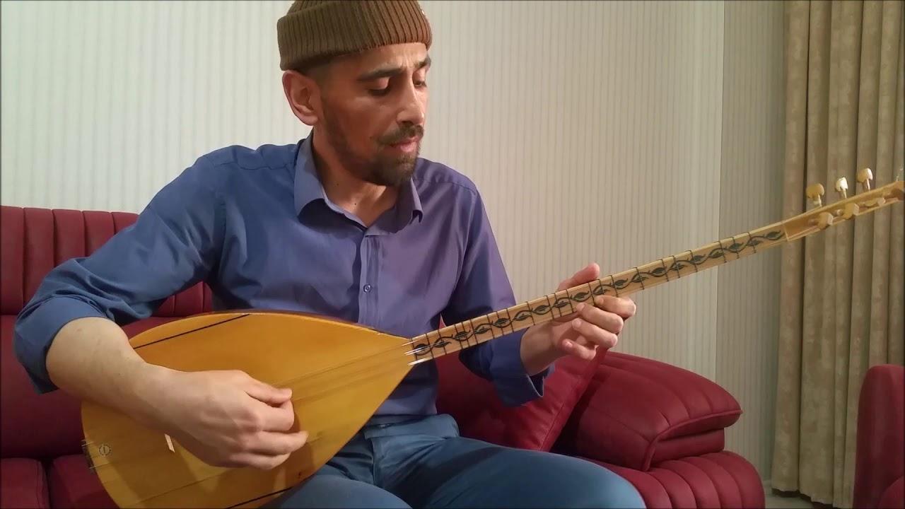 Ali Ayşeyi Seviyor  Solfej Uzun Sap Bağlama - Ahmet  SARI