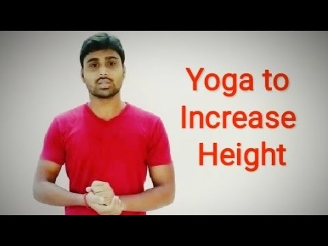 yoga asanas to increase height / relieve constipation
