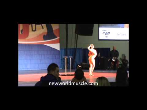 Arnold Expo 2014 - Irina Naumenko - Contortionist - Arnold Stage
