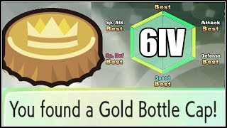 INFINITE GOLD BOTTLE CAPS! Pokemon Let's Go Eevee and Pikachu