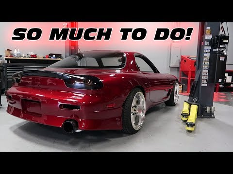 WILL THE FD RX-7 BE READY FOR IT'S FIRST PUBLIC DEBUT!?!?