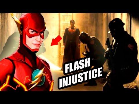¿La Película De Flash Sera Injustice? Cameo De Flash En Batman v Superman