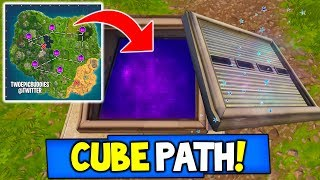 "Fortnite: CUBE PATH LEAKED! ""WAILING WOODS SECRET BUNKER, CUBE INBOUND"" Season 5 Storyline Ending!"