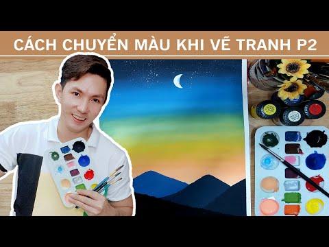 tranh vẽ bằng màu nước tại kienthuccuatoi.com