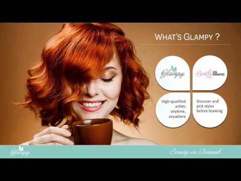 Glampy - On Demand Beauty Booking App