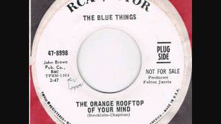 "The Blue Things ""The Orange Rooftop Of  Your Mind"""