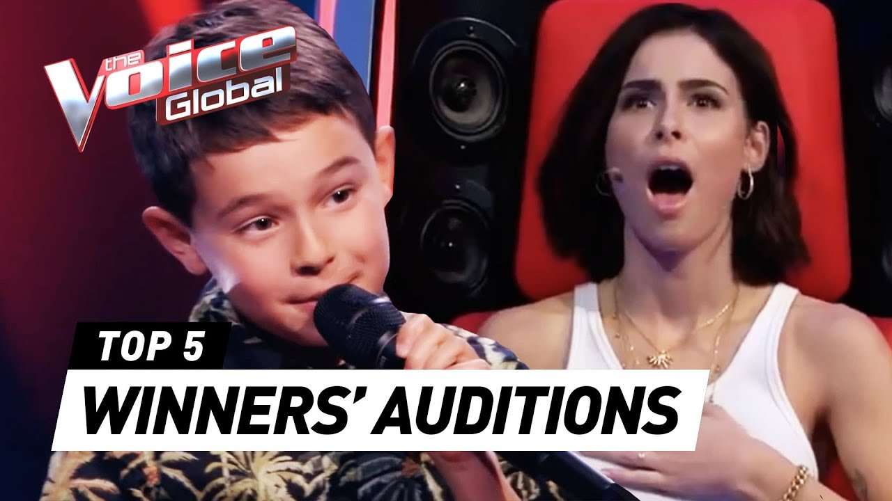 Talented Young Winners In The Voice Kids Youtube The Voice Youtube Kids Winner