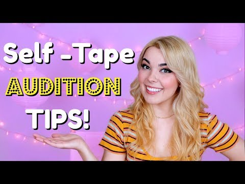 How to Film a Self-Tape Audition