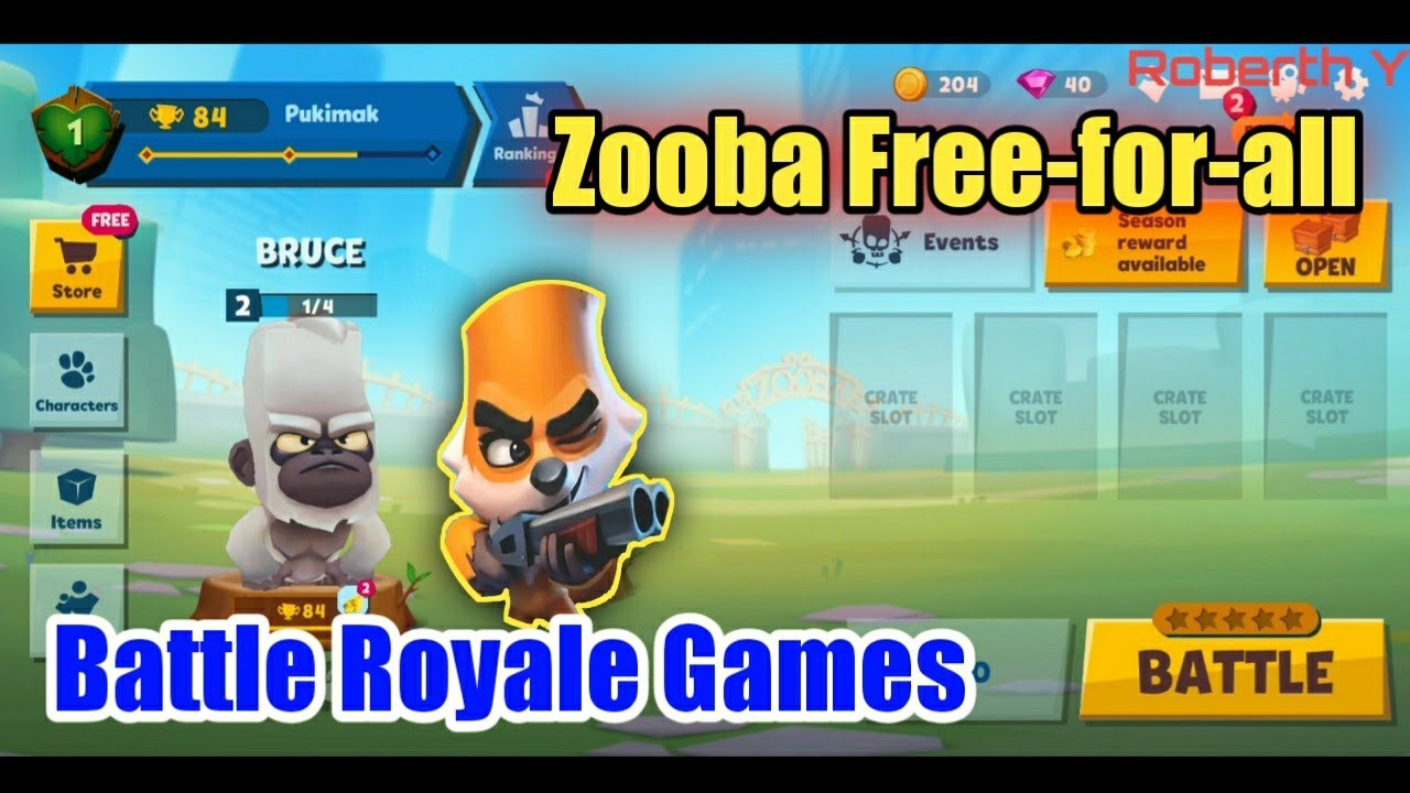 Zooba Free-for-all | Battle Royale Games - YouTube