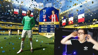 FIFA 17: OMFG GRIEZMANN TOTS IN A PACK! ⛔️🔥😎 - ULTIMATE TEAM - 14x TOTS BEST PACK OPENING EVER!