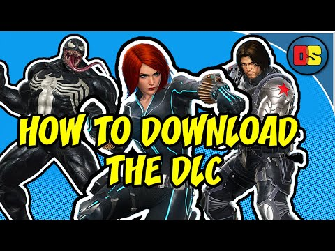 Marvel vs. Capcom Infinite HOW TO DOWNLOAD THE NEW DLC! Black Widow, Venom, Winter Soldier!