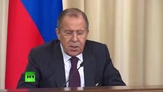 Пресс конференция глав МИД России и Филиппин