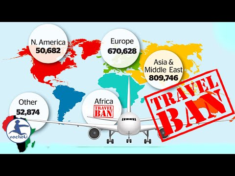 African Nations Ban All US, UK, European & Chinese Travellers