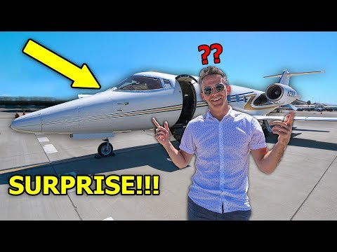 I surprised my DAD with a PRIVATE JET!! (he had NO idea) *PRANK*