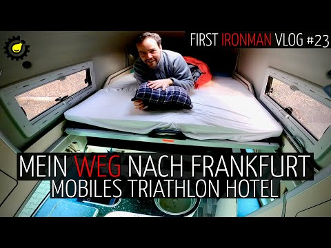 "Mobiles Triathlon-Hotel & Charity Run ""Jede Oma Zählt"" – First Ironman Vlog #23"