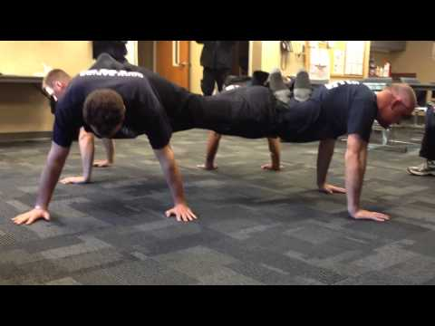 4-Person Push Up Challenge