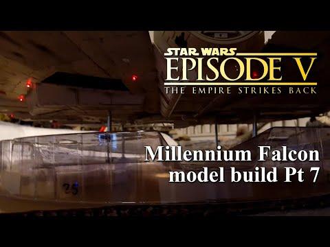 DeAgostini Millennium Falcon Customized Build Pt 7 Hull Lighting and Wiring