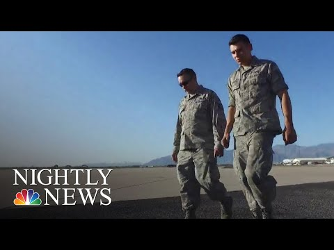 Father And Son Stationed At Same Arizona Air Force Base | NBC Nightly News