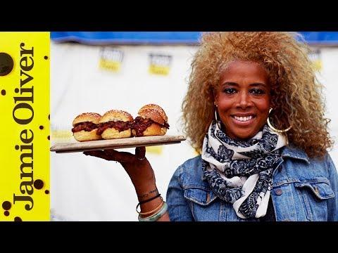 Shredded Beef Sliders & Wild Cherry BBQ Sauce | Kelis