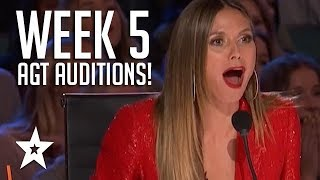 America's Got Talent 2018 Week 5 All Auditions Including Rob Lake, Joseph O'Brien! Got Tal