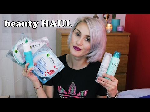 Beauty HAUL: MAC, Kiehl's, L'Oreal, Sephora, Paula's Choice, Moroccanoil