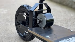 Making an amazing electric scooter