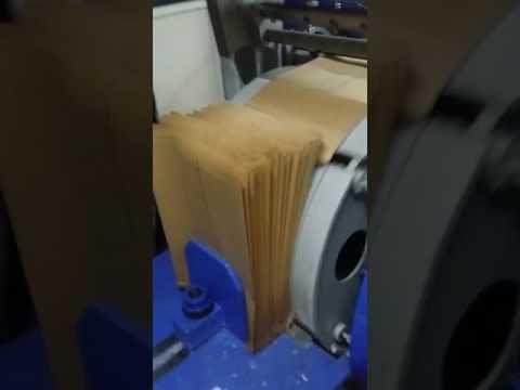 PAPER CARRY BAG MAKING MACHINE IN DELHI  /  PAPER  BAG MAKING MACHINE