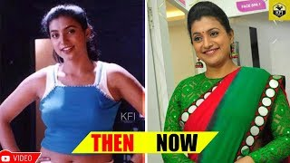 Roja Shocking Photos - Then & Now | Kalavida Actress Roja Rare & Unseen Photos