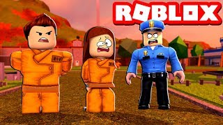 Don't Get Arrested Challenge In Roblox Jailbreak!