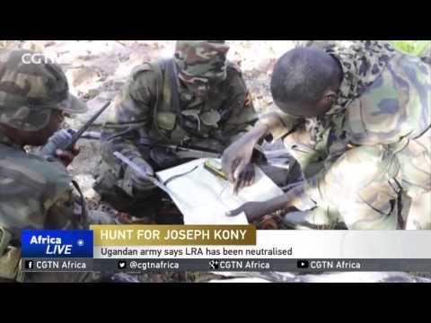 Ugandan army says LRA has been neutralised