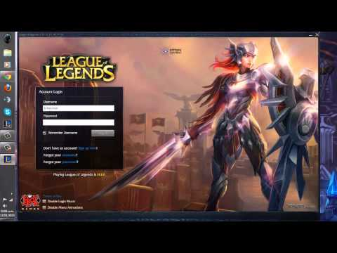 League of Legends Login Leona Iron Solari