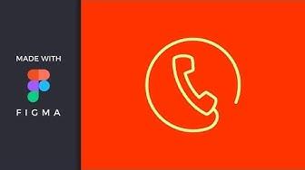 Figma Howto - Hotline Icon