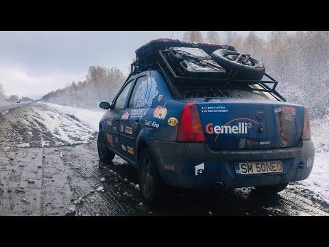 Pe Taiga Siberiana spre Novosibirsk  | Dacia Logan | Hello Siberia Expedition 2018