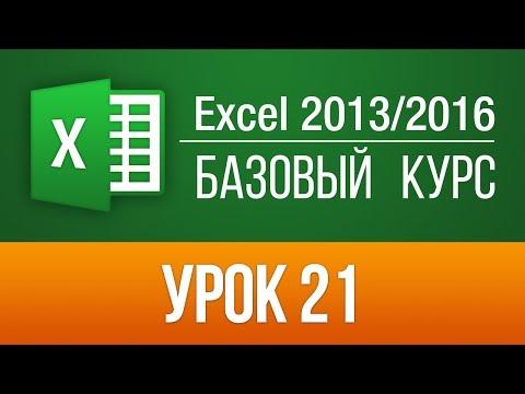 Секреты Excel 2013/2016: Проверка правописания в Эксель. Урок 21