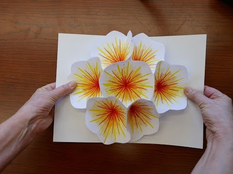 how-to-make-a-bouquet-flower-pop-up-card