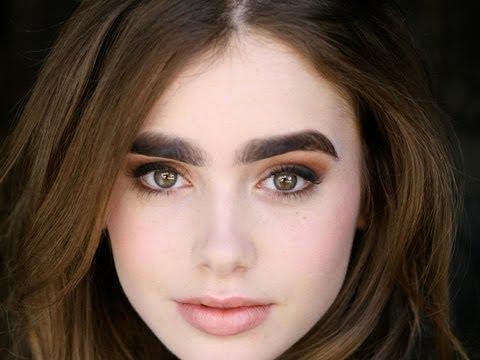 Lily Collins Mirror Mirror Eyebrows